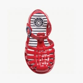 Mens sandals Méduse Sunray Carmine