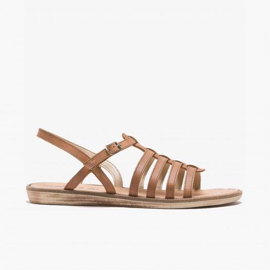 Women sandals Méduse Borac Caramel