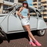 Womens low boots Méduse Japlair Candy/Sand