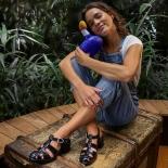 Women sandals Méduse Nikita Black