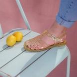 Childrens sandals Méduse Sun Gold Glitter