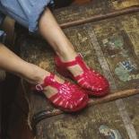 Childrens sandals Méduse Sun Redcurrantr