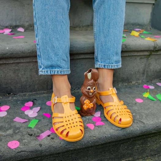 Childrens sandals Méduse Sun Melon