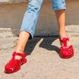 Childrens sandals Méduse Sun Carmine