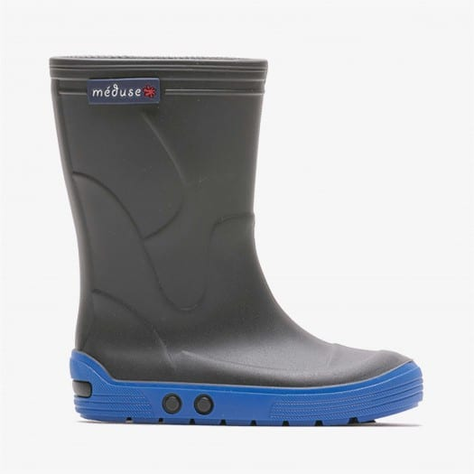 Childrens high boots Méduse Airbus Anthracite/Blue