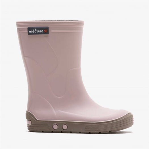 Childrens high boots Méduse Airbus Dusty Pink/Taupe