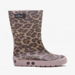 Childrens high boots Méduse Airdim Panther/Dusty Pink