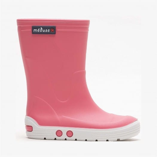 Childrens high boots Méduse Airport Candy/White