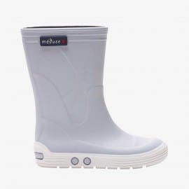 Childrens high boots Méduse Airport Cloud/White