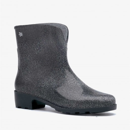 Womens low boots Méduse Camapail Silver Glitter