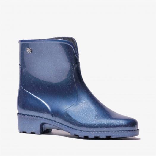 Womens low boots Méduse Camapail Glitter Blue