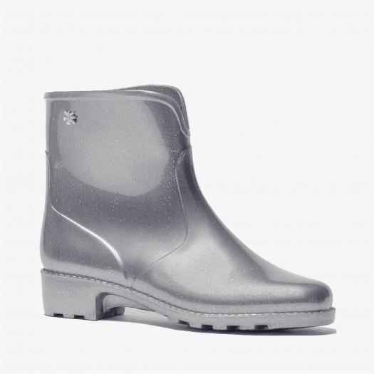 Womens low boots Méduse Camapail Glitter Silver