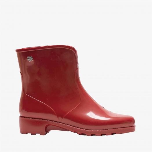 Womens low boots Méduse Camaro Burgundy