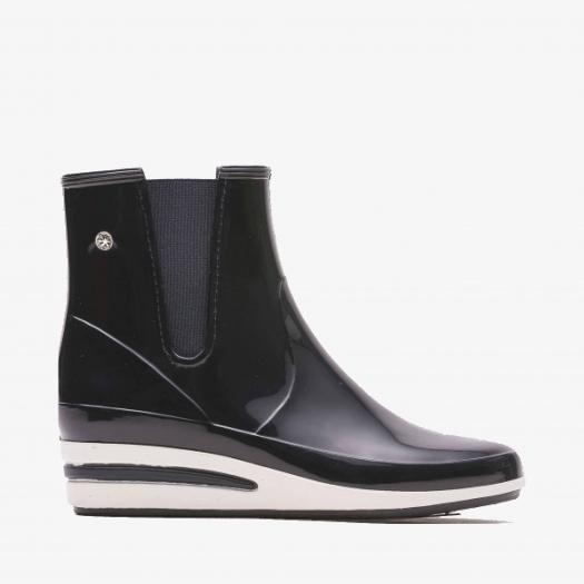 Womens low boots Méduse Castic Navy Blue/White