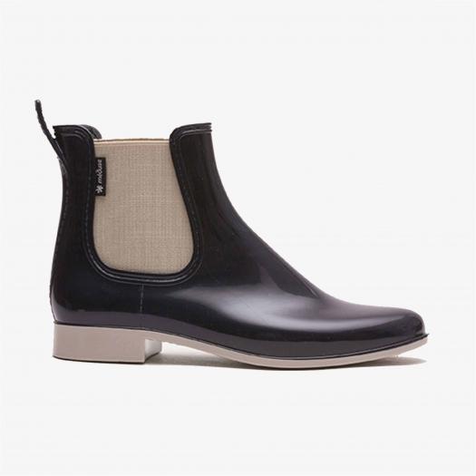 Womens low boots Méduse Japlair Night Blue/Sand