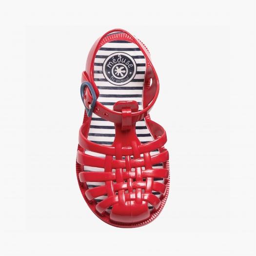 Childrens sandals Méduse Sunray Carmine