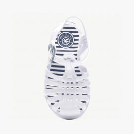 Childrens sandals Méduse Sunray White