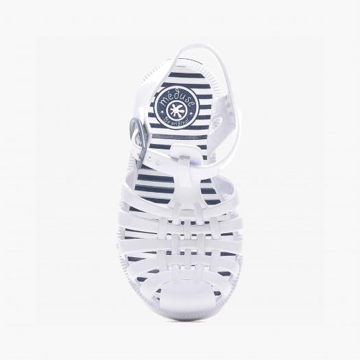 Childrens sandals Méduse Sunray White