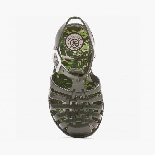 Sandales enfant Méduse Sunfun Kaki SUNFUN-EN-KA