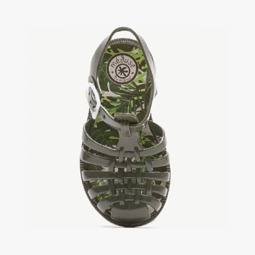 Childrens sandals Méduse Sunfun Khaki