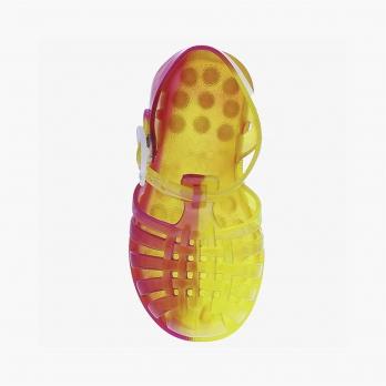 Sandales enfant Méduse Suntri Citron/Fraise SUNTRI-EN-CIFR