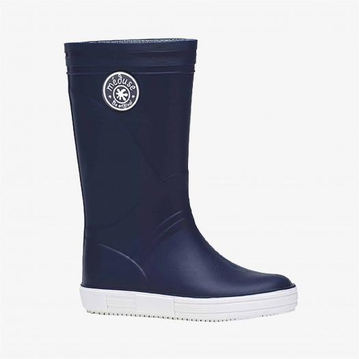 Childrens high boots Méduse Skippy Children Navy Blue/White