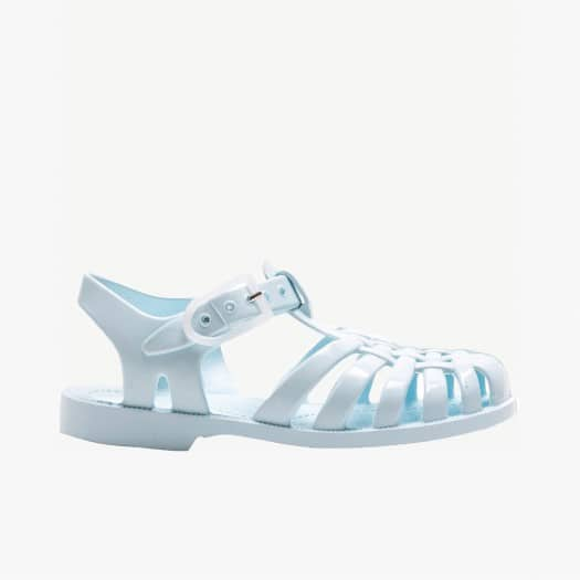 Childrens sandals Méduse Sun Pastel Green