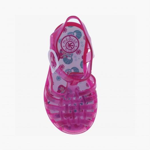 Sandales enfant Méduse Sunfun Groseille SUNFUN-EN-GR