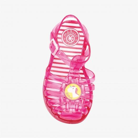 Childrens sandals Méduse Sunpatch Redcurrant