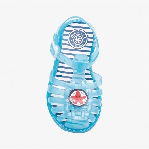 Childrens sandals Méduse Sunpatch Mint Green