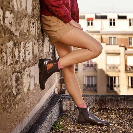 Womens low boots Méduse Japlux Brown/Black