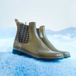Womens low boots Méduse Japstar Khaki/Black