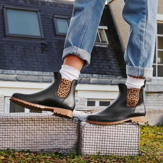 Womens low boots Méduse Jumpardi Black/Honey