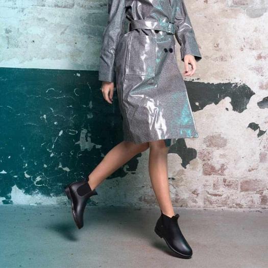 Womens low boots Méduse Jumpy Black/Black