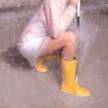 Childrens high boots Méduse Skippy Yellow/White