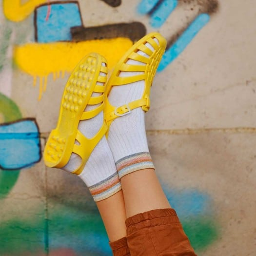 Mens sandals Méduse Sun Yellow