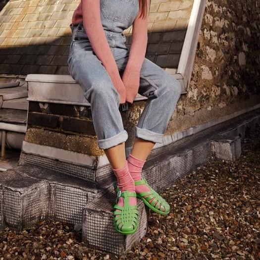 Childrens sandals Méduse Sun Moss