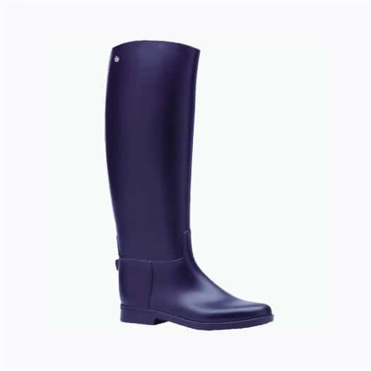 Womens high boots Méduse Flambor Aubergine