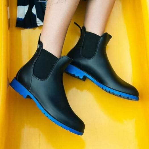 Childrens low boots Méduse Jumpy Navy/Blue