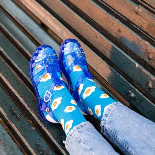 Women sandals Méduse Sunmif Cobalt