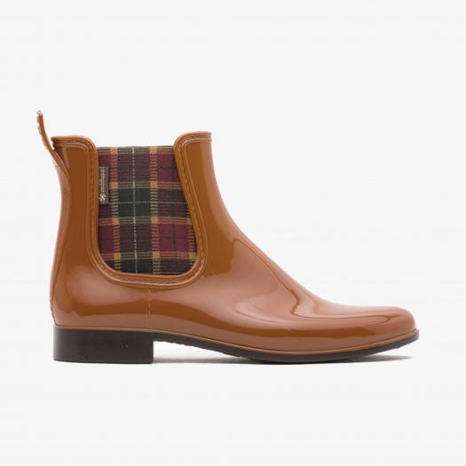 Womens low boots Méduse Japscot Caramel/Brown