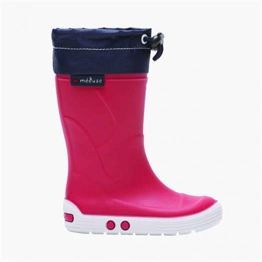 Childrens high boots Méduse Airtop Carmine/White