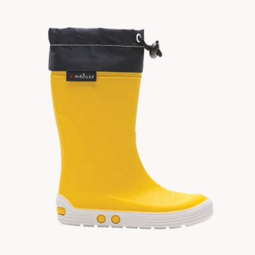 Childrens high boots Méduse Airtop Yellow/White