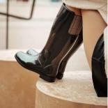 Womens high boots Méduse Faustine Black/Black