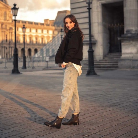 Womens low boots Méduse Japatine Kaki/Noir